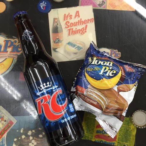 Everything Is Better With An RC Cola and A MoonPie!